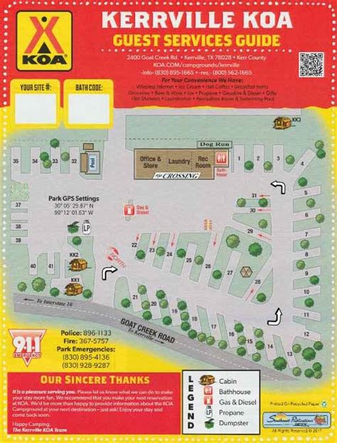 Kerrville, Texas Rv Camping Sites  Kerrville Koa