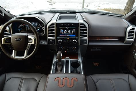 ford   king ranch interior combines luxury utility