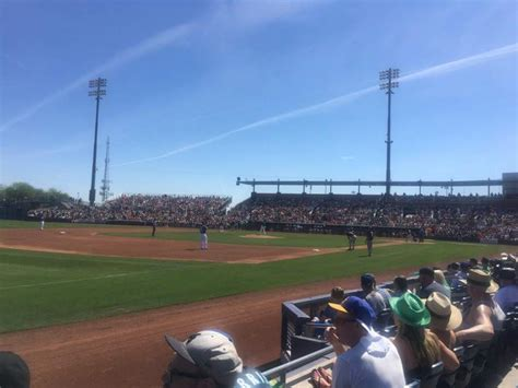 peoria sports complex section  row  seat