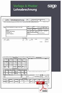Lohnabrechnung Berechnen Kostenlos : kostenloses muster beispiel lohnabrechnung 2018 sage entgelt personal ~ Themetempest.com Abrechnung