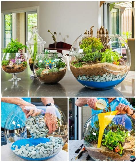 10 Diy Mini Fairy Terrarium Garden Ideas And Projects