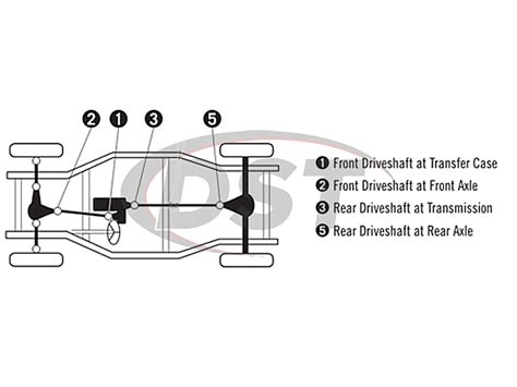 Compressor Wiring Diagram 2006 Ford Truck by U Joint Replacement Kit 98 06 Lincoln Navigator 4wd