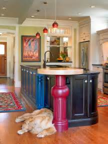 Kitchen Islands With Legs 30 Colorful Kitchen Design Ideas From Hgtv Kitchen Ideas Design With Cabinets Islands