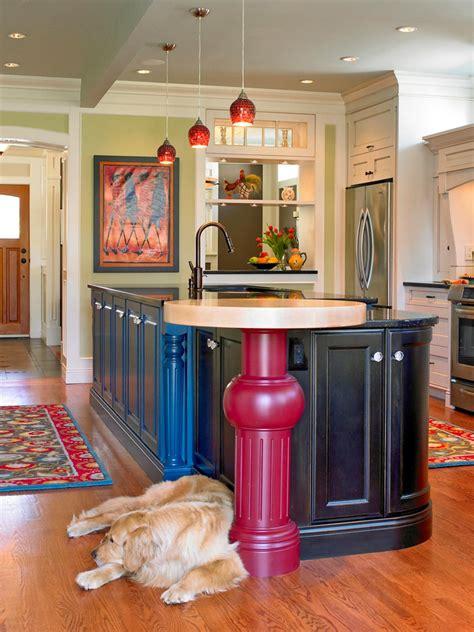 colorful kitchen ideas 30 colorful kitchen design ideas from hgtv kitchen ideas