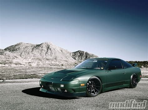 modified nissan 240sx 1993 nissan 240sx being green ain t easy modified magazine