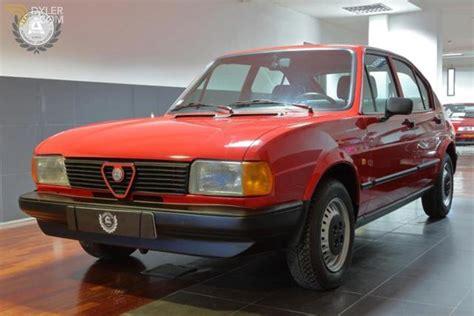 Alfa Romeo Alfasud by Classic 1983 Alfa Romeo Alfasud Sc For Sale 1334 Dyler