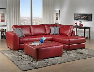deep red leather sofa infosofaco With deep red sectional sofa