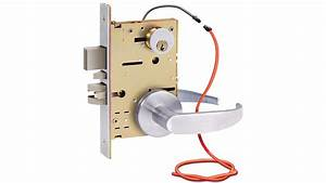 Sdc Electrified Z7870  80 Mortise Lockset Hybrid