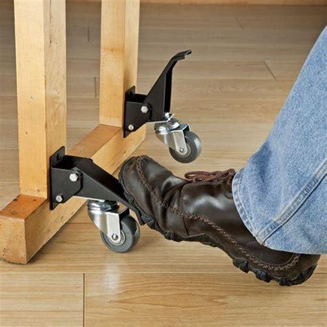 table saw caster kit rockler workbench caster kit 4 pack bench castor wheels