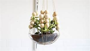 Suspension Pour Plante : une suspension diy pour vos plantes shake my blog ~ Premium-room.com Idées de Décoration
