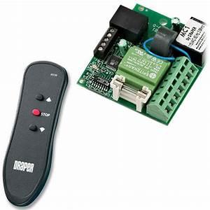Draper Mc1 Motor Control Board For Infrared Remote 121090 B U0026h