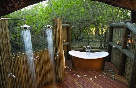 Outdoors Bathroom : 25 Ideas To Checkout Before Designing A Rustic Kitchen