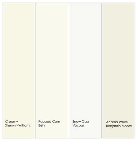 warm white trim paint  left    creamy