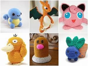 11 x Crochet Pattern Pokemon GO [Free] - STYLESIDEA