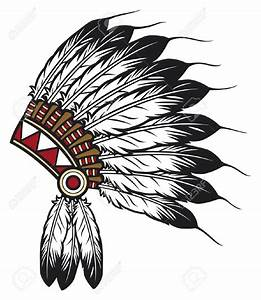 Indian Chief Head Vector - image #252