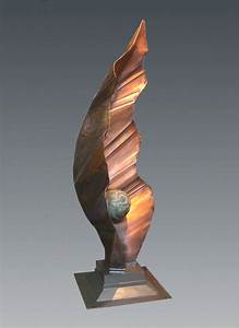 Formed and Welded Abstract Copper Sculpture - Artist ...