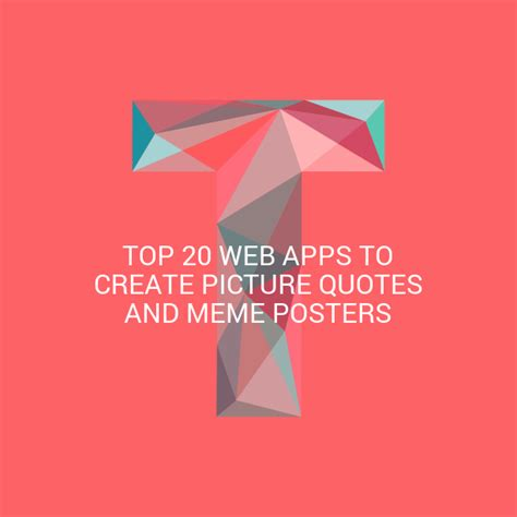 Make A Meme Poster - top 20 web apps to create picture quotes and meme posters colour my income