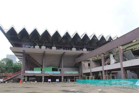 direnovasi stadion gbk  istora senayan bersiap pre
