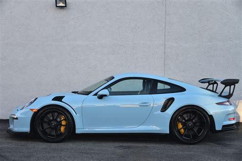 porsche blue gt3 gulf blue porsche 991 gt3 rs on sale for 400k