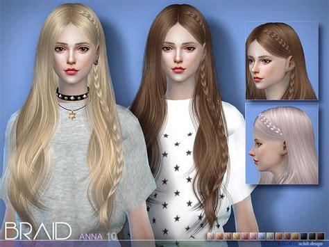 S-club Ana Hairstyle • Sims 4 Downloads