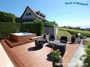 Best Whirlpool Im Garten Charme Badetonne Pictures Ideas