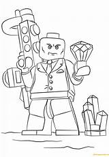 Lego Lex Coloring Luthor Super Heroes Pages Deadpool Ranger Coloriage Power Imprimer Printable Bad Kleurplaat Coloriages Dino Charge Characters Hulk sketch template