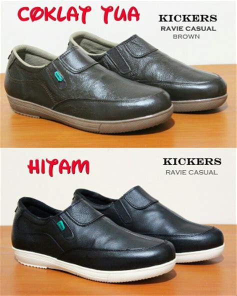 Sepatu Kickers Slop Santai New jual sepatu kerja casual slop santai pria kickers quality