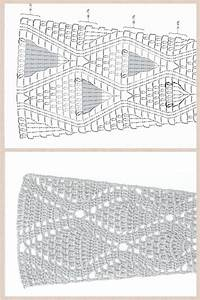 Crochet Diagram Pattern To Make A Skirt Or The Dress