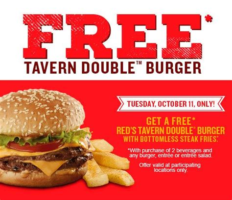 Red Robins Coupons | 2017 - 2018 Best Cars Reviews