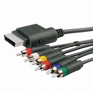 Insten Premium Component HD AV Cable For Microsoft Xbox
