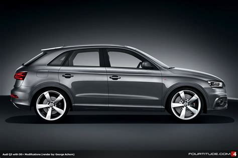 Audi Q3 Modification by Audiboost What Would A Modified Audi Q3 Look Like