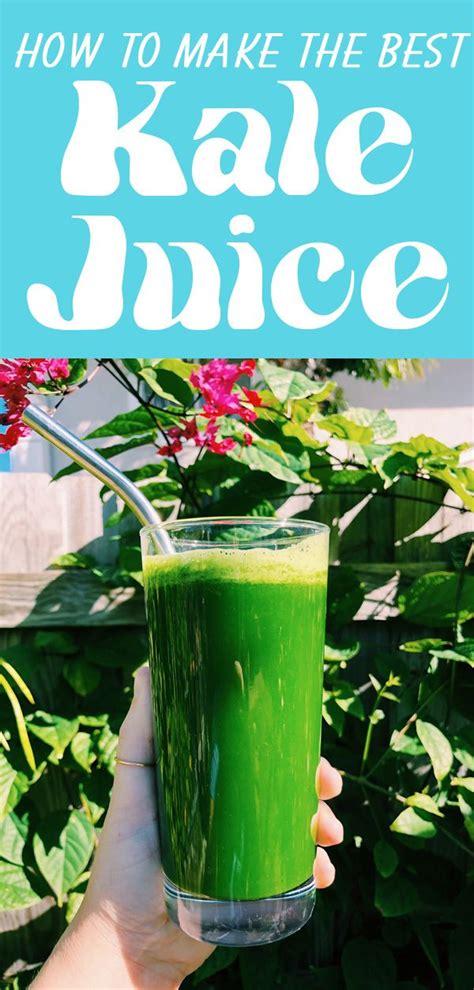 recipe juice kale grilledcheesesocial