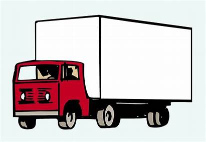 Delivery Truck Warehousing