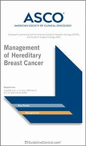 Management Of Hereditary Breast Cancer Guidelines Pocket