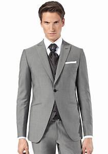 Costume Pour Homme Mariage : costume gris mariage costume de mari gris avec gilet pour homme jean de sey costume ~ Melissatoandfro.com Idées de Décoration