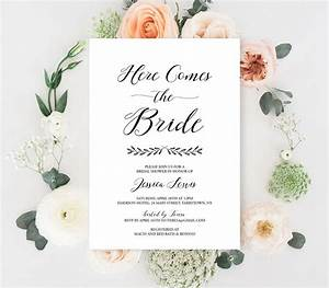 bridal shower invitation bridal shower invitation With samples of wedding shower cards