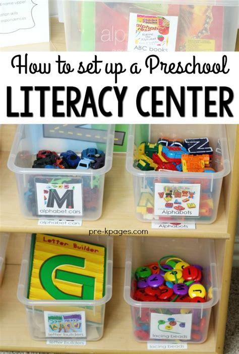 how to set up your preschool alphabet literacy center 480 | How to Set Up a Preschool Literacy Center 2