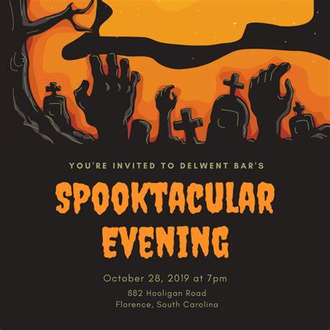 design   halloween party invitations