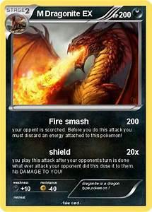 Pokémon M Dragonite EX 4 4 - Fire smash - My Pokemon Card