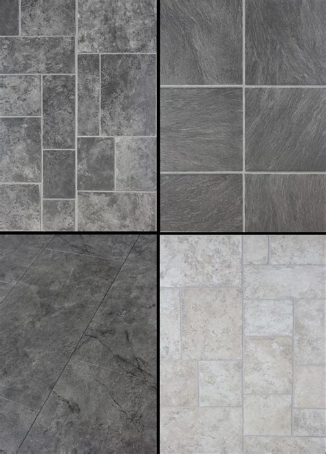 grey slate effect laminate flooring tile effect laminate flooring floor packs choice of 4 slate cream grey black ebay
