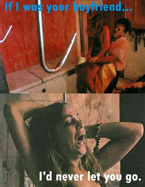 Texas Chainsaw Massacre Meme - when love hurts leatherface style wicked horror