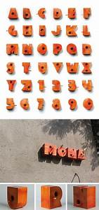 26 best images about hollow letter topography on pinterest With hollow 3d letters