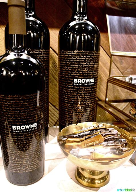 browne vineyards walla wines brown wine tasting room urbanblisslife