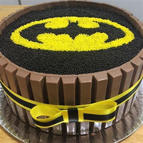 bolo batman elo7 batman kit kat cake cake recipe