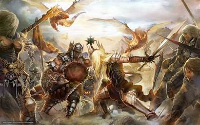 Wallpapers Forsaken Battle Guild Wars Dark Knights