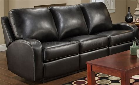 Modern Recliner Loveseat by Black Bonded Leather Modern Reclining Sofa