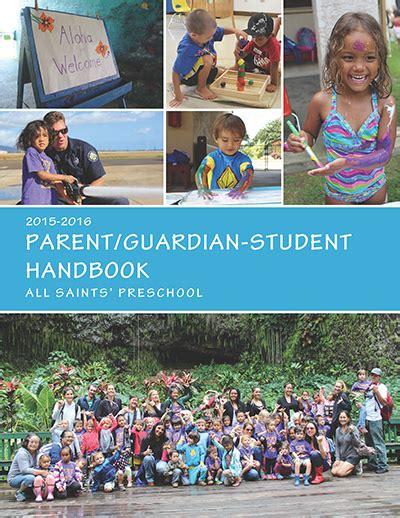 all saint preschool 2015 2016 parent guardian student handbook all saints 303