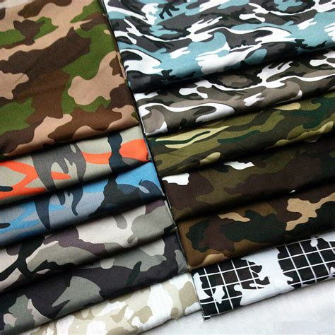 Camouflage Upholstery Fabric by Camouflage Army Prints Camo Fabric Cotton Like