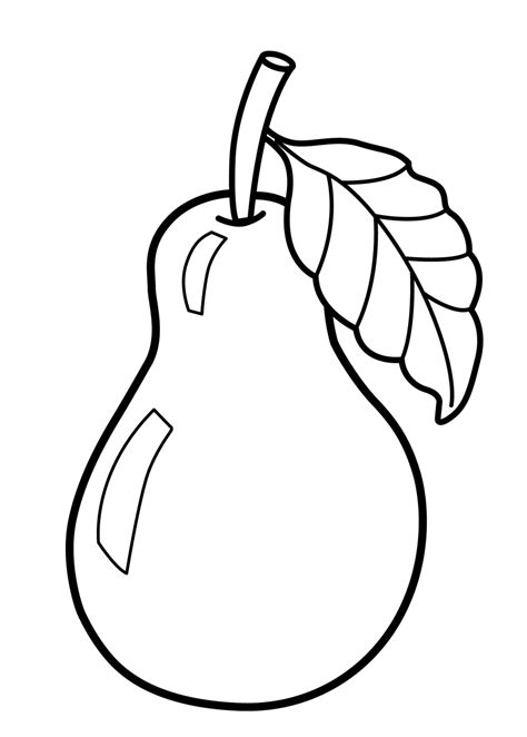 Coloring Fruit by Fruits Coloring Pages For Preschoolers Fruit Coloring