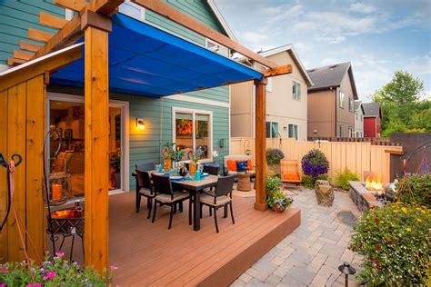 retractable patio cover  vancouver shadefx canopies